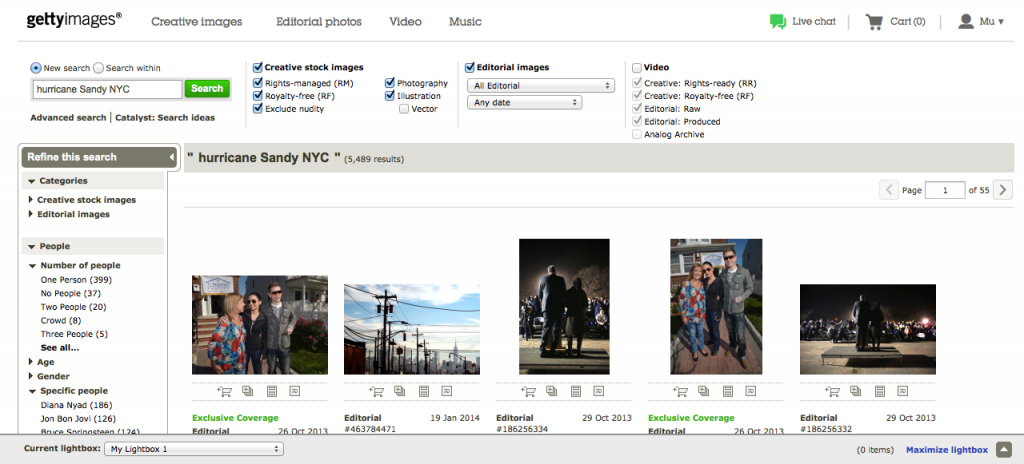 How to embed Getty Images free photos